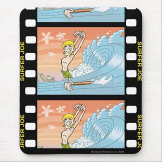 Surfer Joe Hangin' Ten Mouse Pad