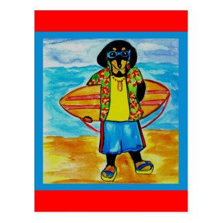 Surfer Joe Postcard