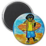 Surfer Joe Refrigerator Magnets
