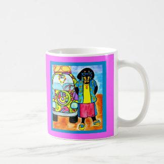Surfer Joe's Van Coffee Mugs