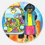 Surfer Joe's Van Stickers