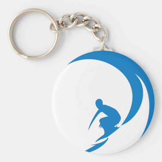 Surfer Keychain