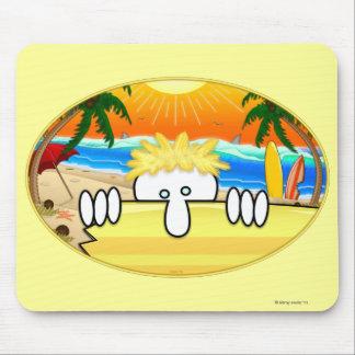 Surfer Kilroy Mousepad