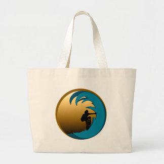 Surfer Large Tote Bag