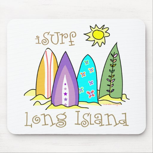 Surfer Long Island Gear Mouse Pads