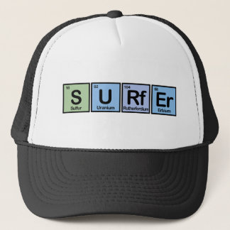 Surfer made of Elements Trucker Hat