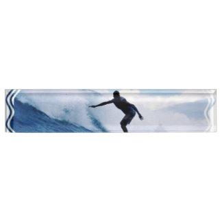 Surfer Nameplate