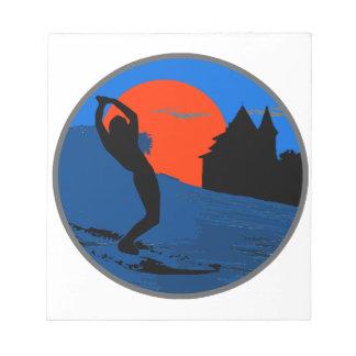 Surfer of Biarritz Notepad