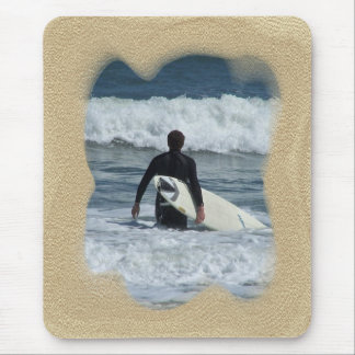 Surfer- One Last Wave Mouse Pad