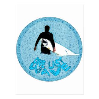 Surfer- One last wave... Postcard