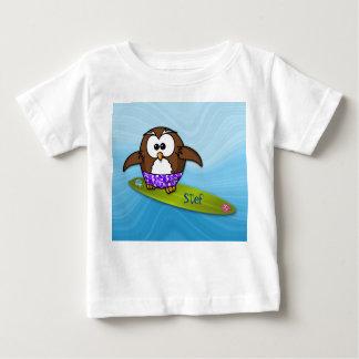 surfer owl t shirts