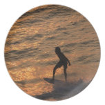 surfer plate