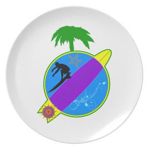 Surfer.png tropical plato de cena