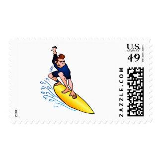 Surfer Postage