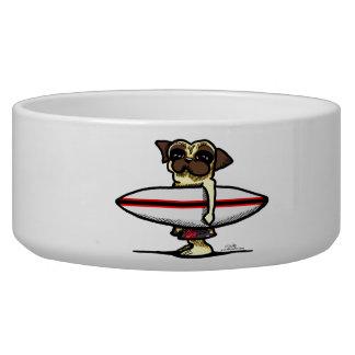 Surfer Pug Bowl
