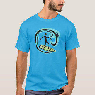 surfer riding the wave T-Shirt