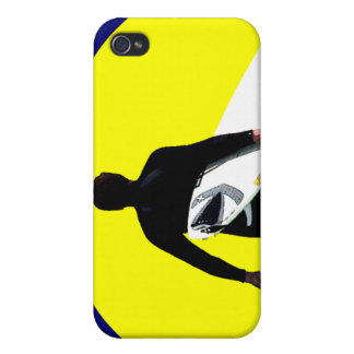 Surfer Silhouette Cases For iPhone 4