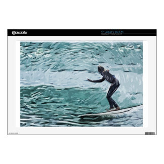 """surfer 17"""" laptop decals"""