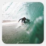 Surfer Square Stickers