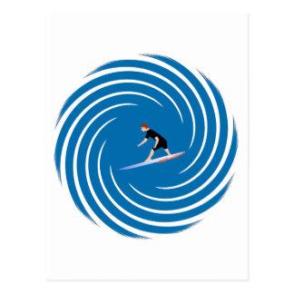 Surfer - Surfeur Postcard
