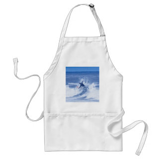 Surfer Surfing Hands Hanging Out HDR Aprons