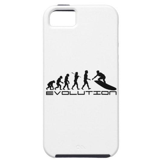 Surfer Surfing Sport Evolution Art iPhone SE/5/5s Case