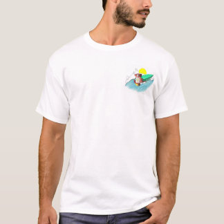Surfer Surfing Wave Ocean Beach Wear Mens T-Shirt