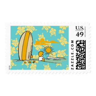 Surfer Tshirts and Gifts Stamp