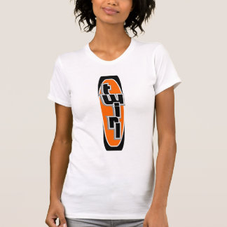 Surfer Twirl Orange Tank Top T-shirt