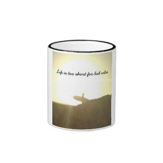 surfer vibes coffe mug
