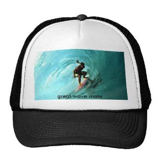 surfer-wallpaper, great wave mate trucker hat