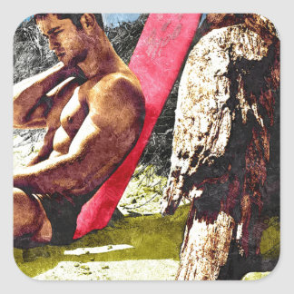 Surferboy Pastel Sticker