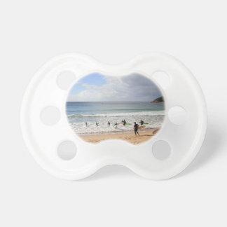 Surfers At Manly Beach, Australia Pacifier