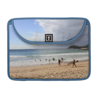 Surfers At Manly Beach, Australia Sleeve For MacBook Pro