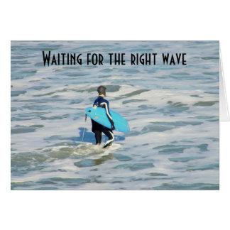 SURFER'S BIRTHDAY WISH CARD