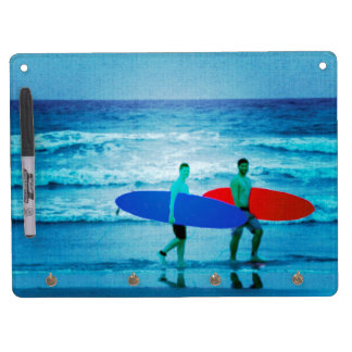 Surfers Dry Erase Board With Keychain Holder