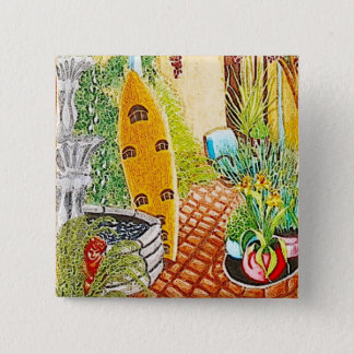Surfer's Garden Button