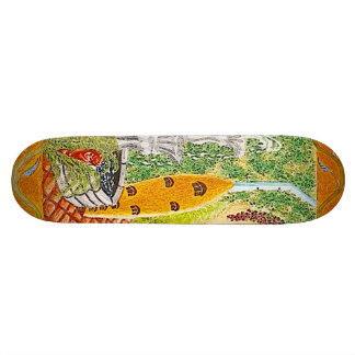 Surfer's Garden Skateboard