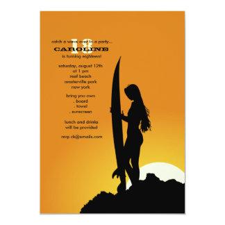 Surfer's Morning Invitation