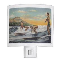SURFERS night light