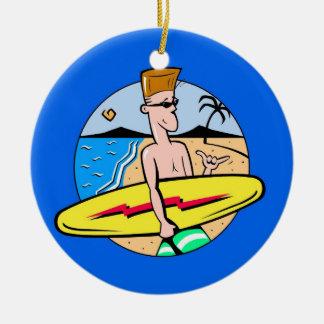 Surfers Ornament