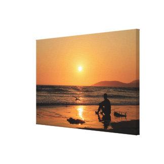 Surfer's Paradise Canvas Print