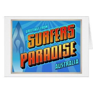 SURFERS PARADISE CARD