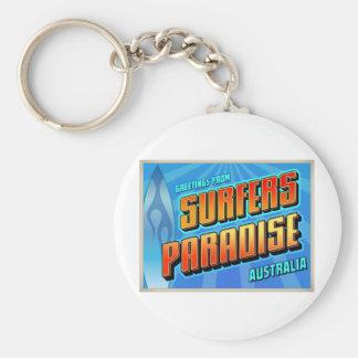 SURFERS PARADISE KEYCHAIN