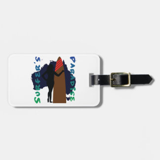 surfer's paradise luggage tag