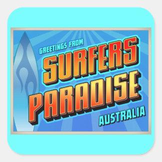 SURFERS PARADISE SQUARE STICKER