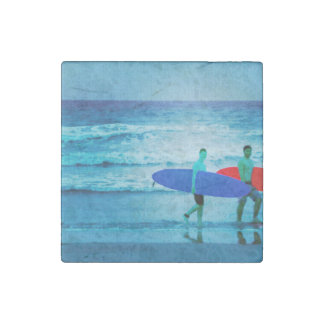 Surfers Stone Magnet