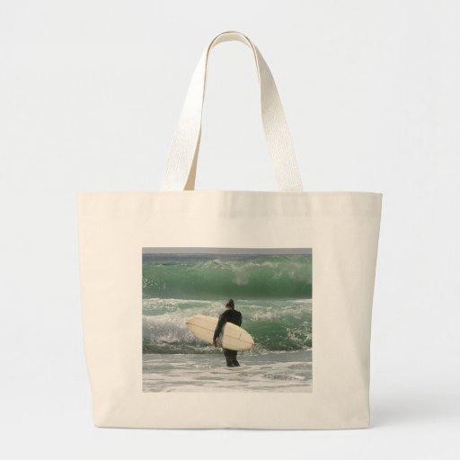 Surfers Surfing Sport Canvas Bag