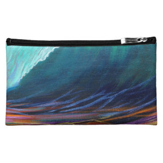Surfers View of the Barrel Cosmetic Bag