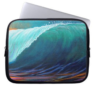 Surfers View of the Barrel Laptop Sleeve